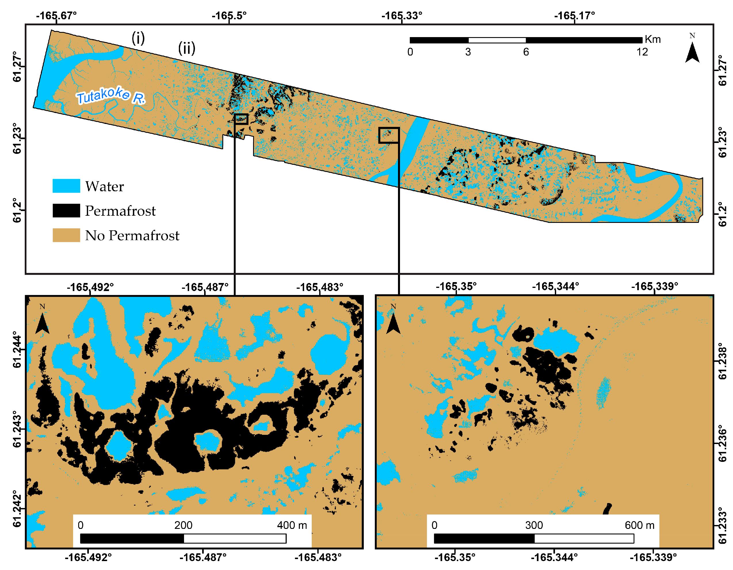 High Resolution Permafrost Maps For Western Alaska Ornl Daac News