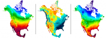 Daymet provides high-resolution surface meteorology data for North America.