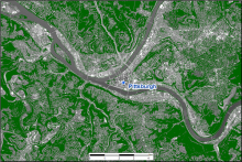 Pittsburgh Tree Canopy Cover.