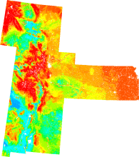 Visualization of Surface Soil Organic Carbon Fractions across the Great Plains Region, USA.